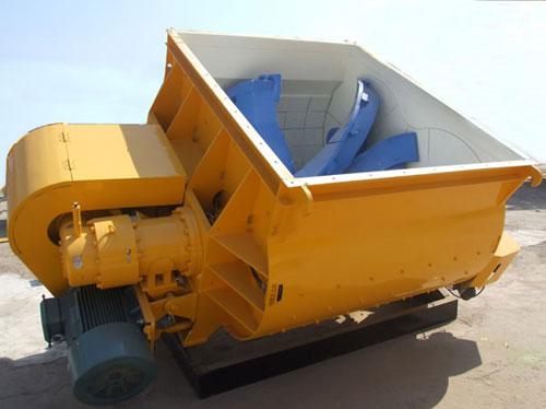 山推建友JSW系列無軸混凝土攪拌主機