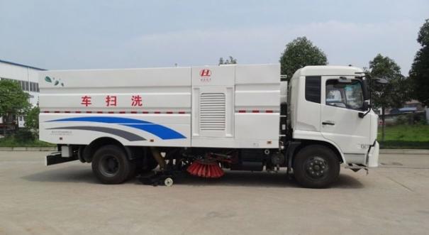 湖北合力神狐牌HLQ5160TXSD型洗扫车