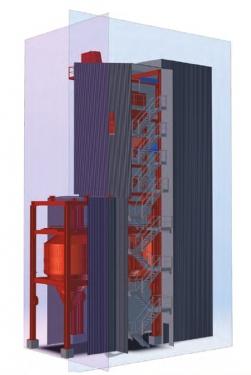 德基机械环保型封闭式沥青混合料搅拌设备