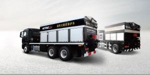美通LMT5251TYHB型储料式路面养护车