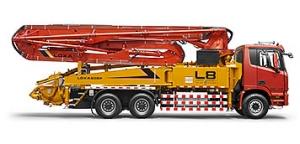 雷萨重机39米泵车