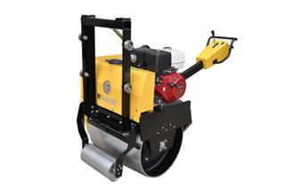 路得威RWYL24小型高配置手推式单钢轮压路机