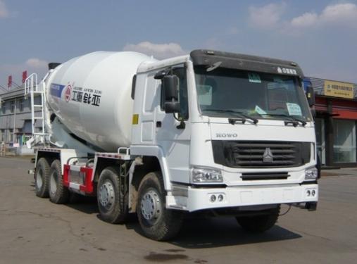 亚特重工TZ5317GJBZ2E豪泺14立方混凝土搅拌车