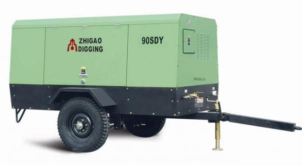 志高90SDY-8电动移动螺杆压缩机