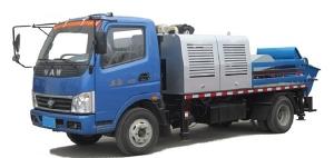 奥驰汽车奥驰车载式混凝土泵车