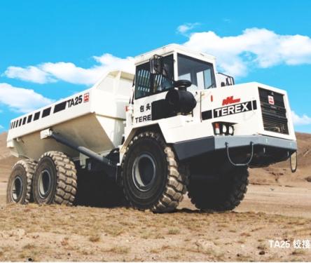 内蒙古北方股份TA25铰接式矿用自卸车