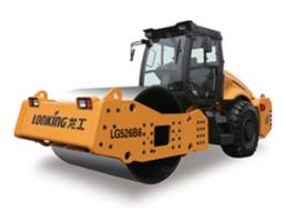 龙工LG526B6机械驱动单钢轮振动压路机