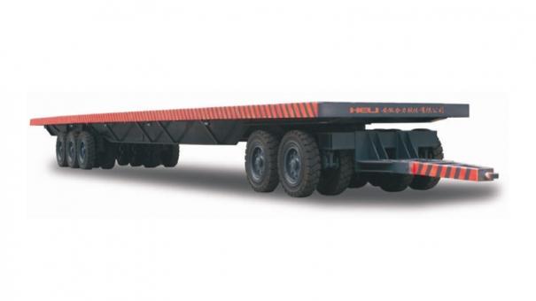 合力1-80吨平板拖车