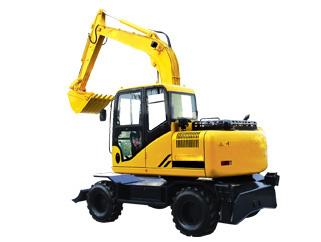 山鼎重工SD100-9A轮胎式挖掘机双驱