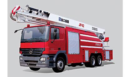 徐工JP42举高喷射消防车