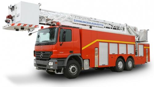 中联重科ZLJ5330JXFYT30型多功能云梯消防车
