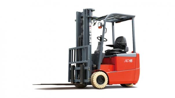 合力三支点 G系列1-2吨前驱蓄电池平衡重式叉车