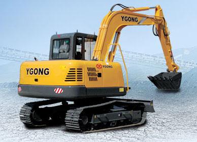 宜工CY65-8履带挖掘机履带挖掘机