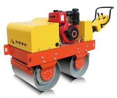 山联重科SLYL-600S手扶式双钢轮振动压路机