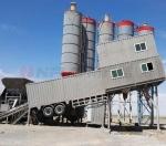 南方路机环保移动式混凝土搅拌站