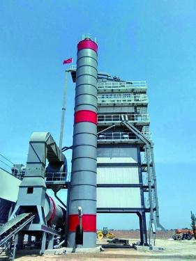鑫海路机QLB-3000型沥青搅拌设备