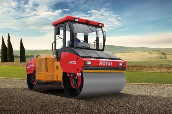 科泰重工KD126H双钢轮压路机