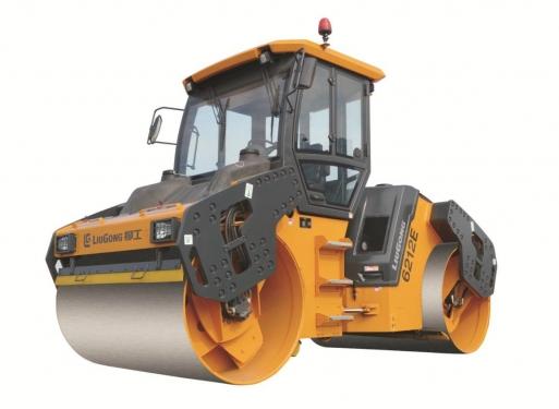 柳工CLG6213E高频款双钢轮压路机