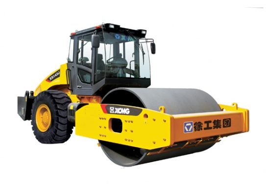 徐工XS143J机械式单钢轮振动压路机