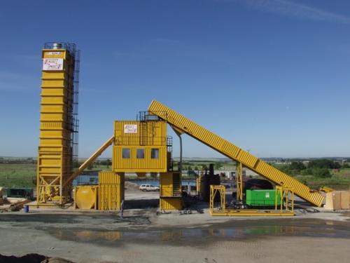 林泰阁CC3000集装箱式水泥混凝土搅拌站