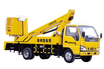 海伦哲XHZ5052JGK庆铃18米伸缩臂高空作业车