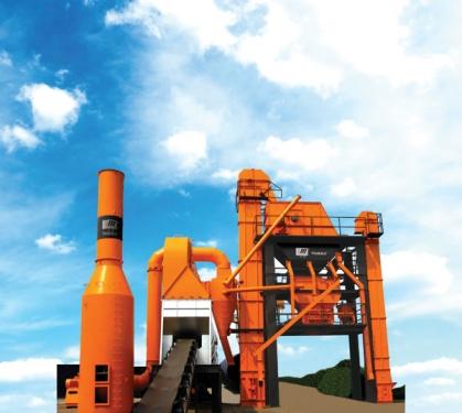 华通动力LJB1200沥青混合料搅拌设备