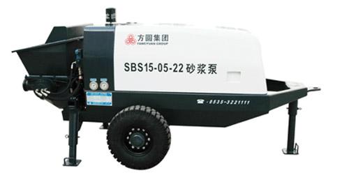 方圆SBS15-05-22混凝土拖泵