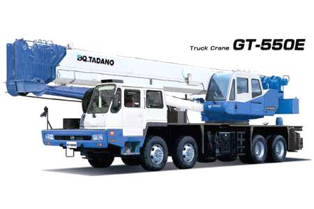 北起多田野GT-550E型汽车起重机