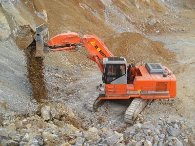 邦立CED750-7正铲电动液压挖掘机