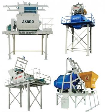 长盛机械JS系列双卧轴强制式搅拌机
