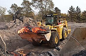 卡特彼勒988H轮式装载机钢厂配置总成