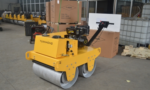 远恒YH-YLS700A手扶式双轮压路机(人力转向) 4km/h