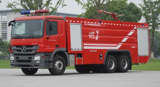海伦哲SGX5330GXFPM180型泡沫消防车