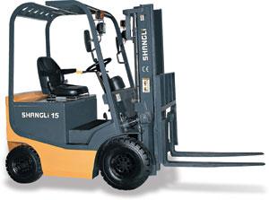上力重工2~2.5吨蓄电池平衡重式叉车