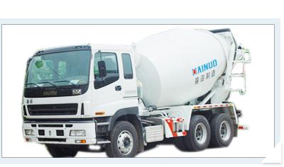海诺HNJ5257GJBA (8立欧)混凝土搅拌运输车