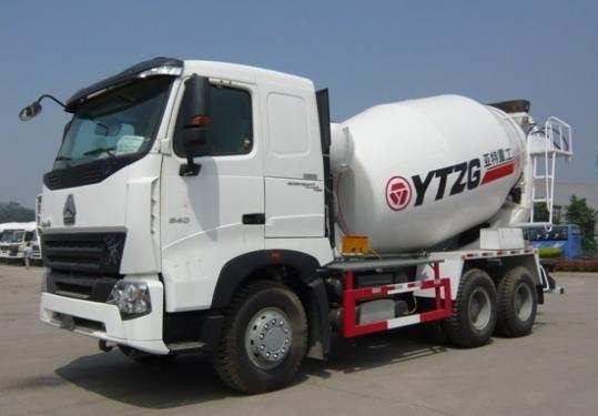 亚特重工TZ5257GJBZA8豪泺A812立方混凝土搅拌车