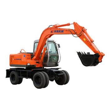 建德KT Y80-A全液压轮式挖掘机