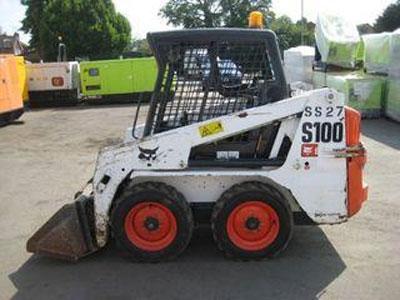 山猫S100滑移装载机