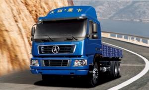 大运DYX1250平板载货车