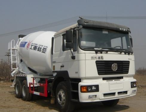 亚特重工TZ5255GJBSE2德龙14立方混凝土搅拌车