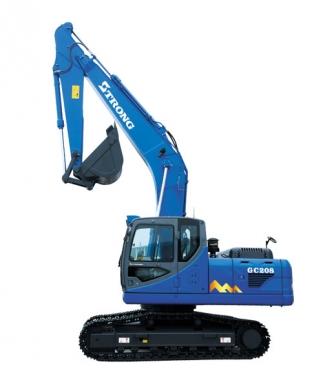 山重建机GC218履带式挖掘机