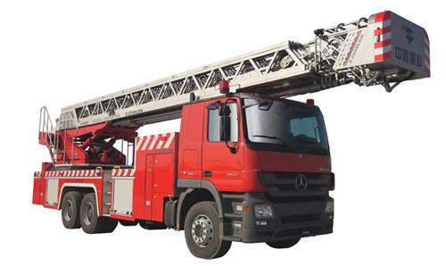 中联重科ZLJ5300JXFYT53型多功能云梯消防车