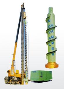 上海振中NV系列潜孔锤凿岩钻机