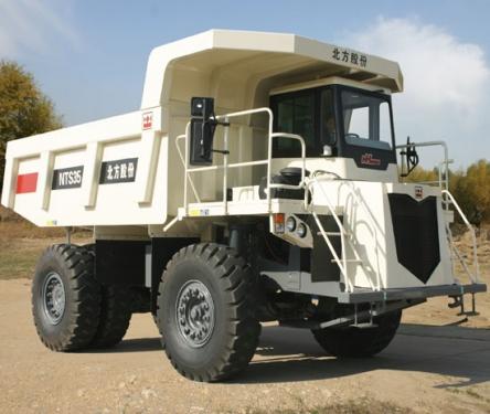 内蒙古北方股份NTS35岩斗型矿用自卸车