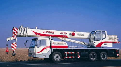 抚挖锦重QY20F 汽车起重机汽车起重机