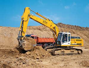利勃海尔R934BLitronic履带式挖掘机
