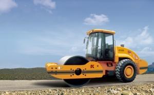 科泰重工KS182S单钢轮振动压路机(单驱)