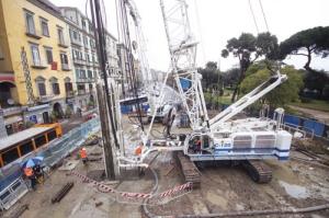 土力机械SC120悬挂式铣槽机