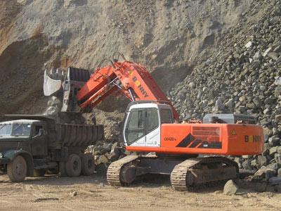 邦立CE420-7正铲液压挖掘机
