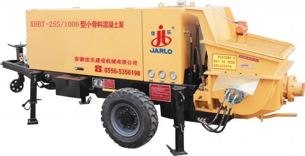 佳乐XHBT-25S/1008型小骨料混凝土泵